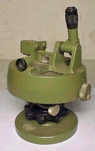 9: Wild Heerbrugg military sighting instrument