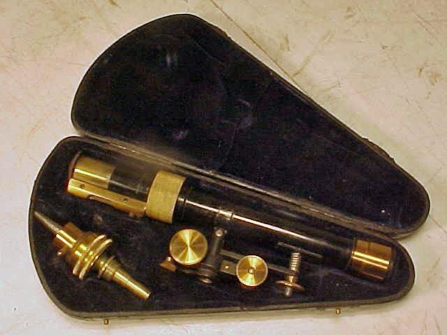23: Sighting device in case, Georg Butenschon Barenfeld
