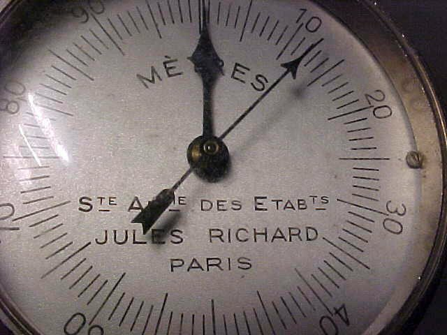 71: Anemometer by Jules Richard, Paris, in case - 3