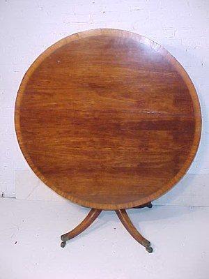 103: Rare George III laburnum breakfast table