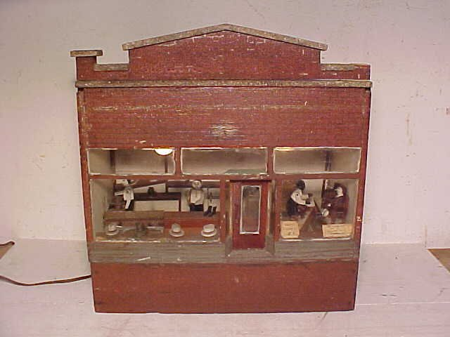 "108A: ""Action Ad"" shoe store diorama"