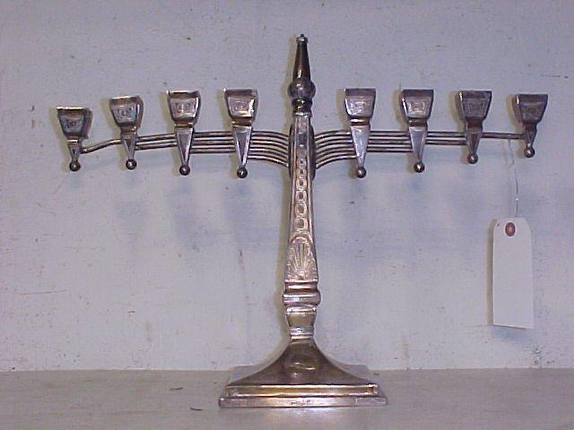 117: Silver Menorah