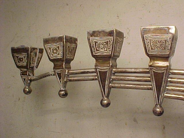 117: Silver Menorah - 2