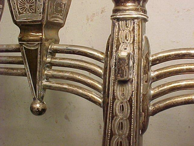 117: Silver Menorah - 4