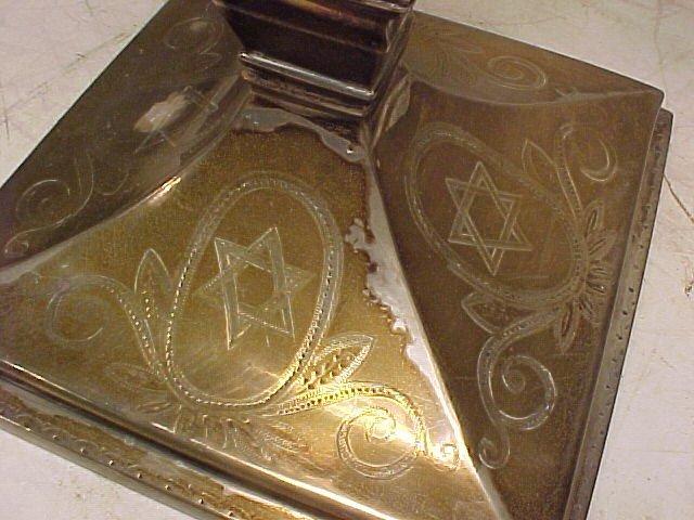 117: Silver Menorah - 8