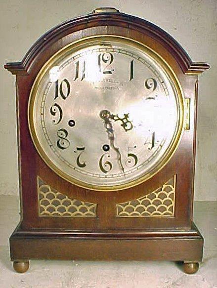 Caldwell bracket clock