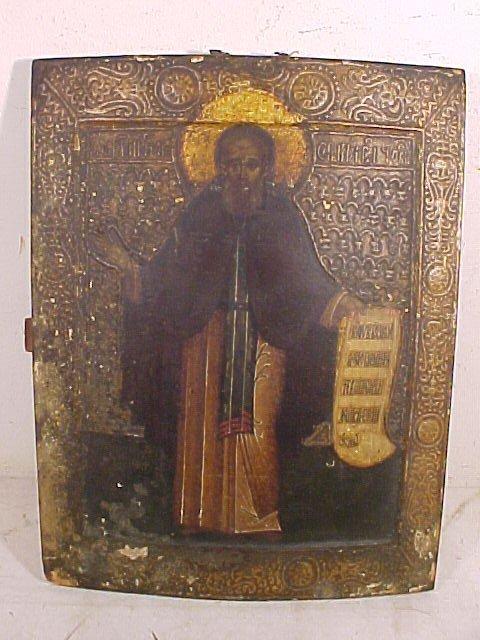 Icon,  Sergius of Radonezh