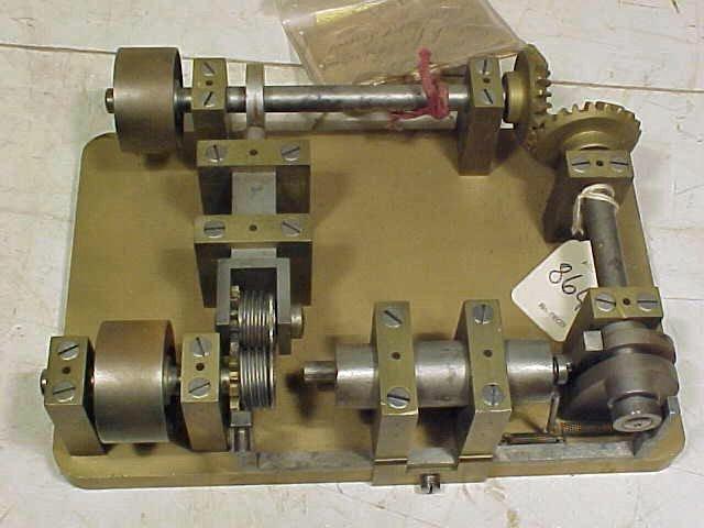 "Patent, ""Mach. for threading sheet metal screws"""