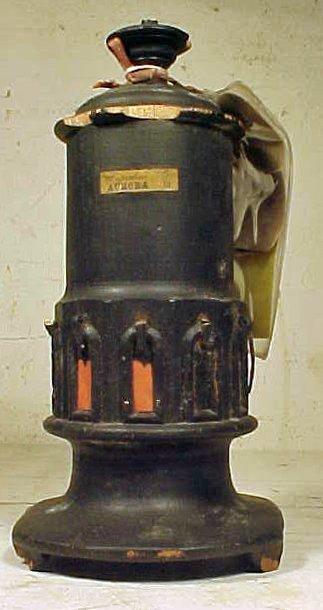 "Patent, ""Iron Heater"", William Scarlett"