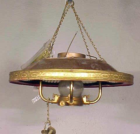 """Patent, """"Hanging lantern"""", Willard H. Smith"""