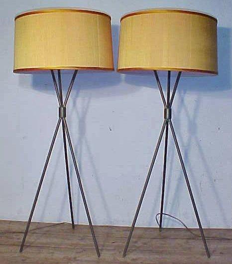 Floor lamps nby Robsjohn Gibbings for Hansen