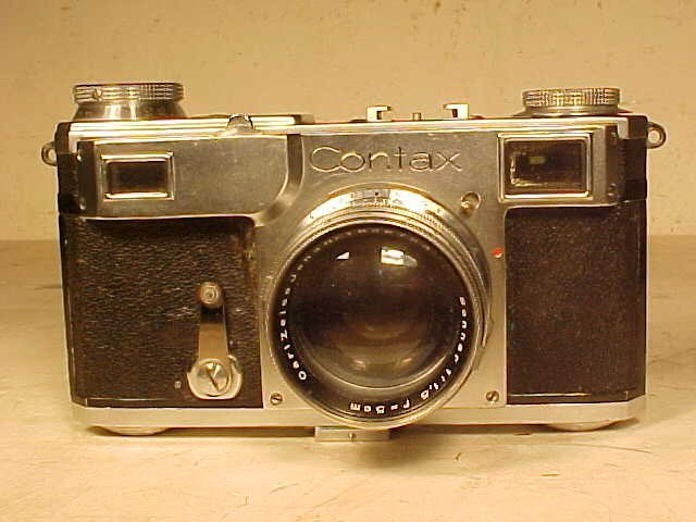 Zeiss Ikon, Contax 2 camera, Carl Zeiss lens