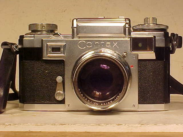Zeiss Ikon Contax IIIA camera, Carl Zeiss