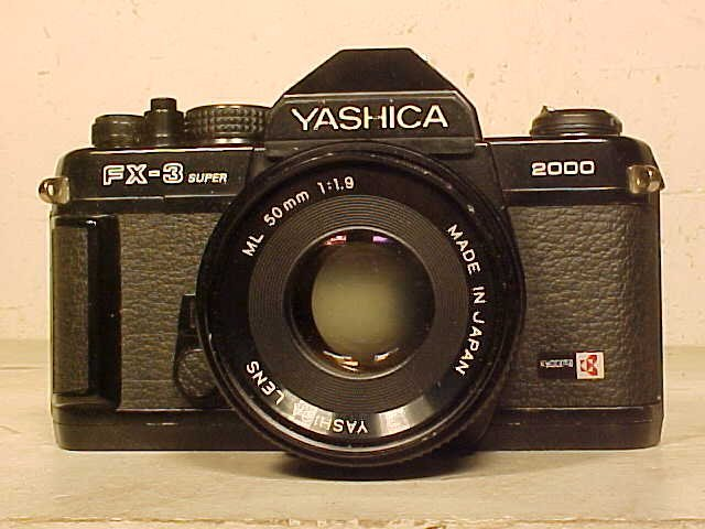 Yashica FX-3 super with Yashica lens