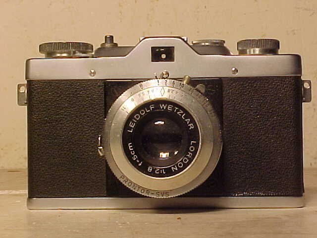 Lordox camera with Leidolf Wetzlar lens