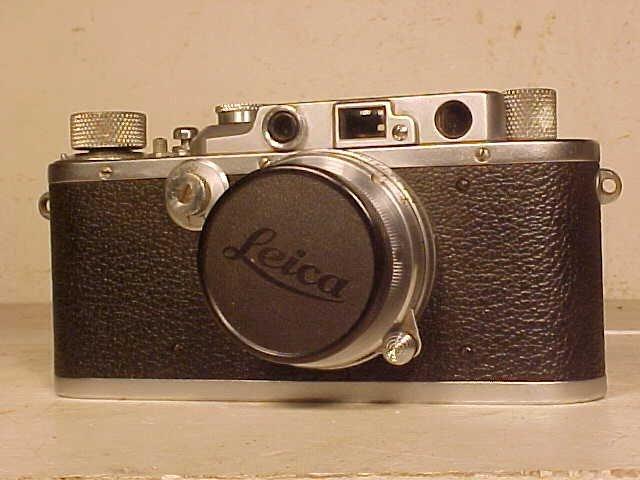 Leica IIIA camera, serial # 195613