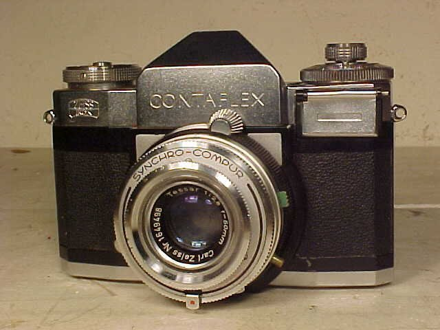 Zeiss Ikon Contaflex with Carl Zeiss lens