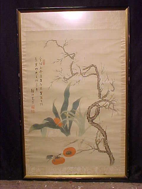 Asian watercolor, plants
