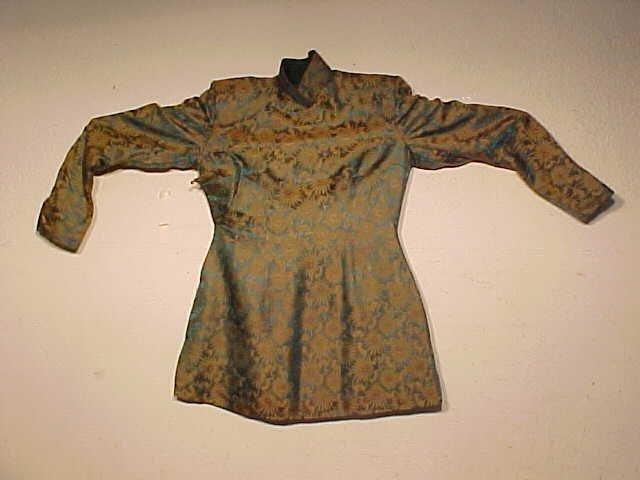 Vintage silk Chinese jacket
