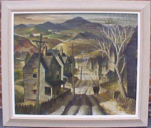"""O/C, Pennsylvania Road"""", sgd. Henry Gasser"""