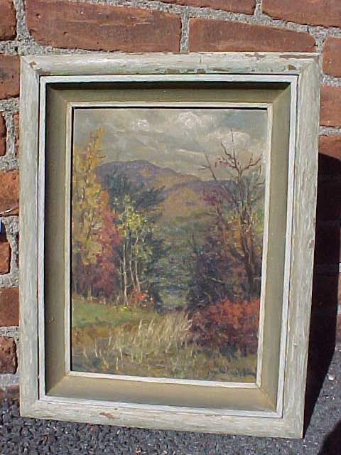 O/B, Landscape, signed Jay Weaver