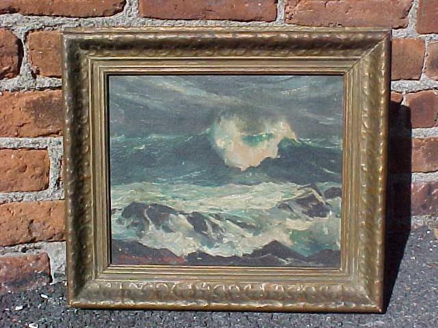 O/CB, seascape, Stanley W. Woodward