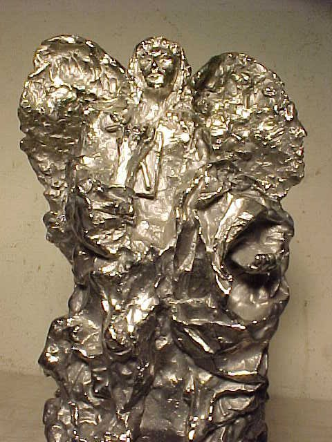 "Sculpture, ""Peace Angel"", 26/50, by Lin Evola - 2"