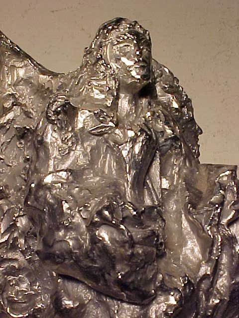 "Sculpture, ""Peace Angel"", 26/50, by Lin Evola - 4"