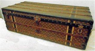 Louis Vuitton trunk, Charles H. Lovington initials