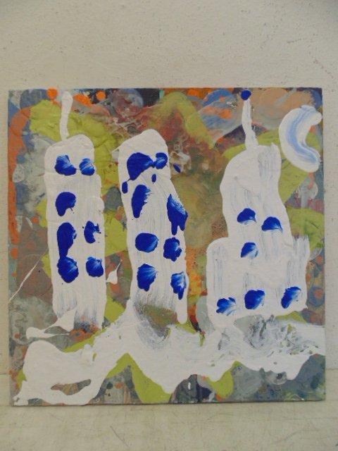 """Brendan Cass (American 1974) Oil, """"Greek 1999"""""""