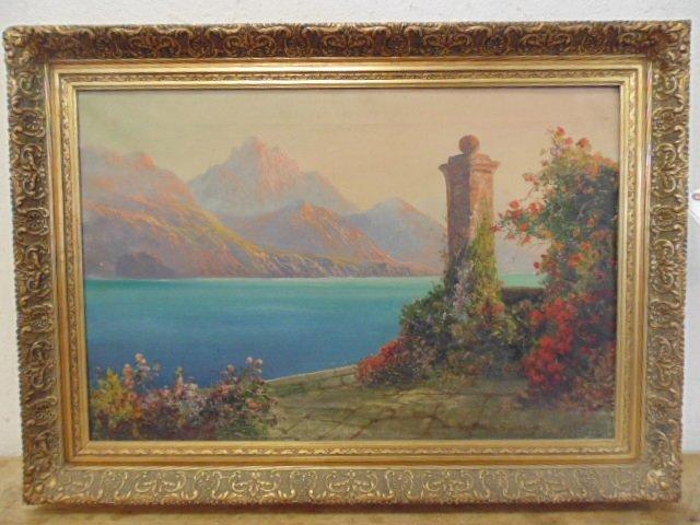 Daniel Sherrin (British 1868-1915)Oil on canvas