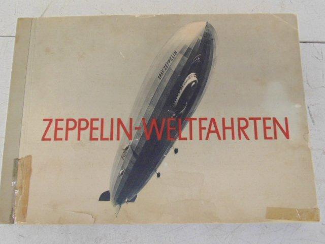 """Book, """"Zeppelin-Weltfahrten"""", 1932"""