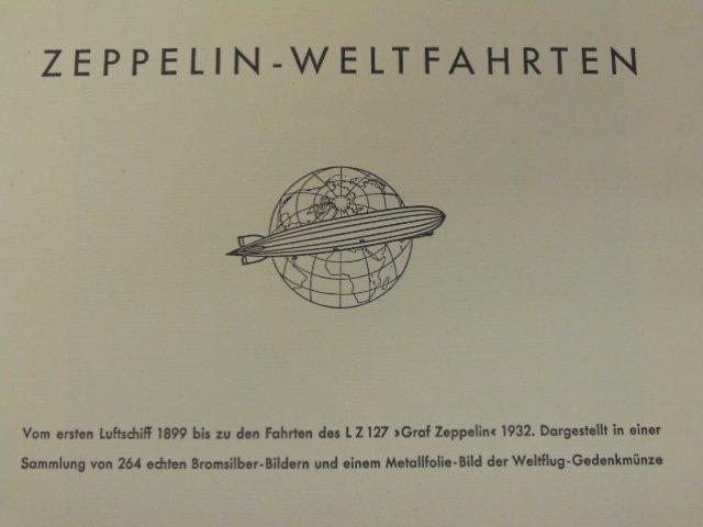 """Book, """"Zeppelin-Weltfahrten"""", 1932 - 2"""