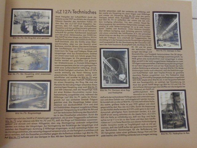 """Book, """"Zeppelin-Weltfahrten"""", 1932 - 3"""