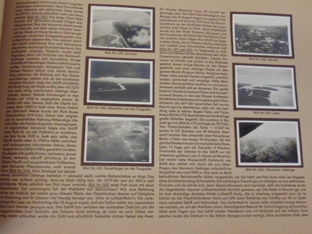 """Book, """"Zeppelin-Weltfahrten"""", 1932 - 4"""