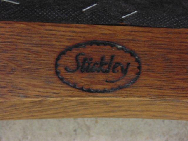 Stickley Audi oak rocking chair - 5