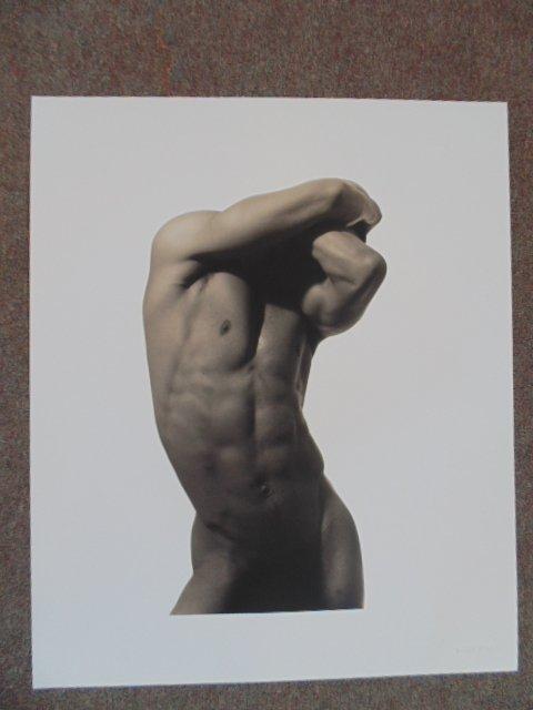"Photograph, 6/10, ""Eduardo Pos. No 2"", 1991, Len Prince"