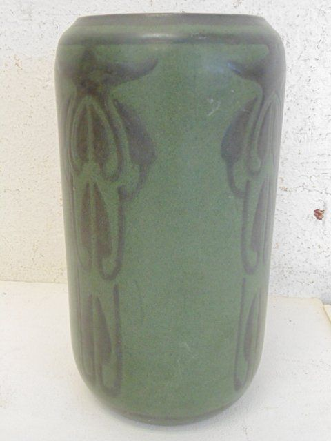 "Marblehead art pottery vase, ""as is"""