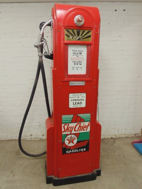 Sky Chief Texaco gas pump