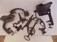 Collection of 19th Century kitchen implements