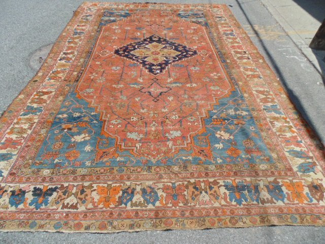 """Roomsize estate carpet, 14'8"""" by 9'10"""""""