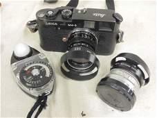 Leica M42 camera with extra lens