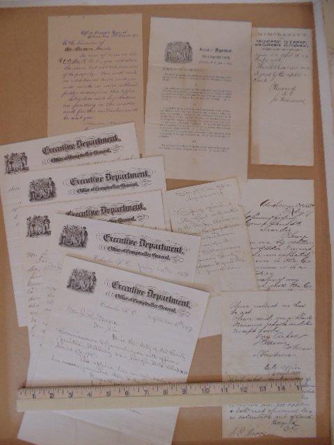 Lot paper, notes & documents, Johnson Hagood