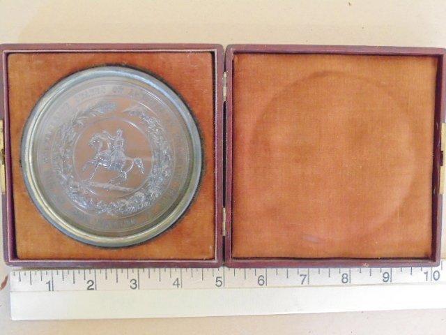 Medallion, plaque, The Confederate States of America