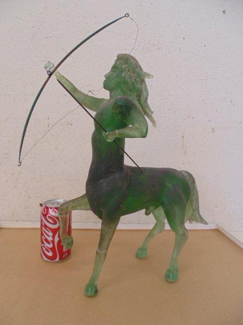Early Murano centaur figure with bow & arrow