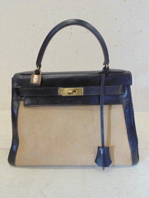Vintage Hermes 1960's Kelly bag, Bonwit Teller