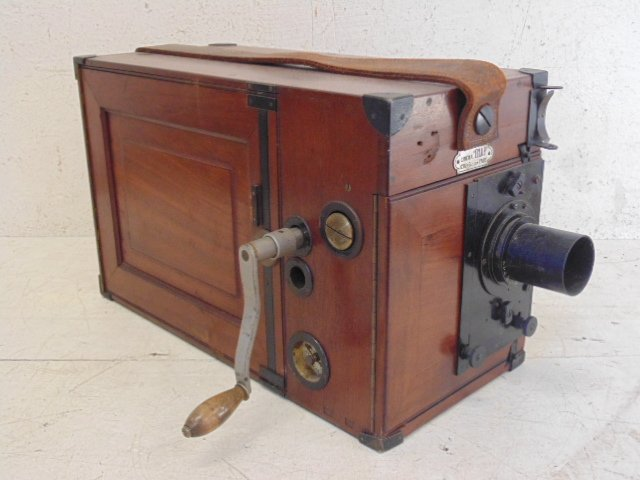 French Eclair movie camera, circa 1918