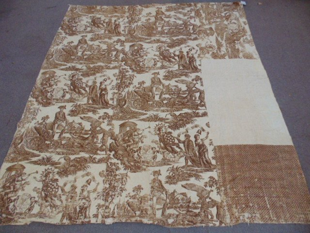18th Century American coverlet with various federal