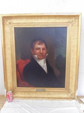 Painting, portrait of Thomas Hale, copied by Charles E