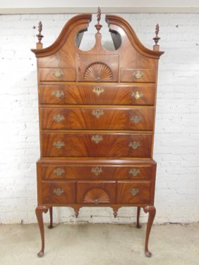 Antique Mahogany Highboy